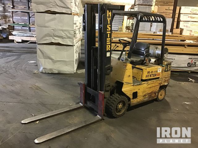 Hyster S50XL Cushion Tire Forklift, Parts/Stationary Construction-Other