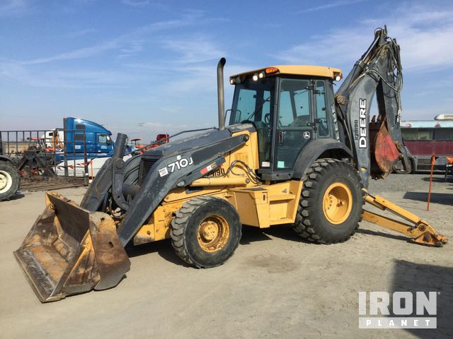 2008 John Deere 710J 4x4 Backhoe Loader, Loader Backhoe