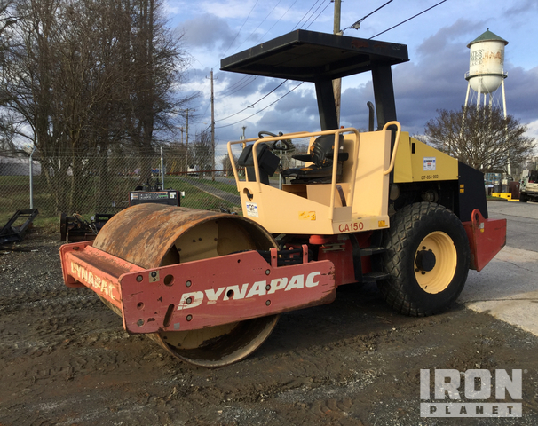 Dynapac CA150D Vibratory Single Drum Compactor, Vibratory Padfoot Compactor