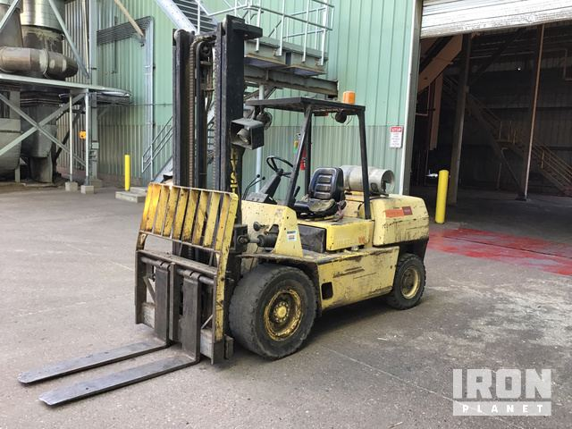 Hyster H100XL2 Pneumatic Tire Forklift, Forklift