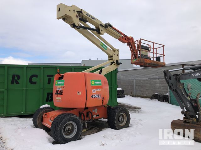 2009 JLG 450AJ Series ll 4WD Dual Fuel Articulating Boom Lift, Parts/Stationary Construction-Other