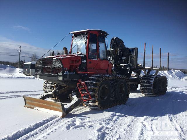 2015 (unverified) Komatsu 895 Log Forwarder, Forwarder