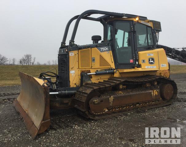 2012 (unverified) John Deere 750K XLT Crawler Dozer, Crawler Tractor