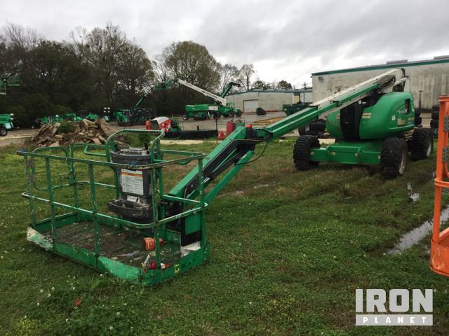 2012 (unverified) JLG 600AJ 4WD Diesel Articulating Boom Lift, Parts/Stationary Construction-Other