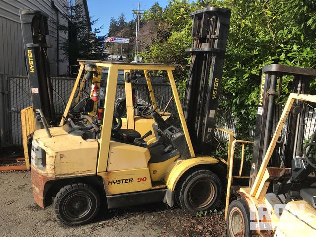 Hyster H90XMS Pneumatic Tire Forklift, Parts/Stationary Construction-Other