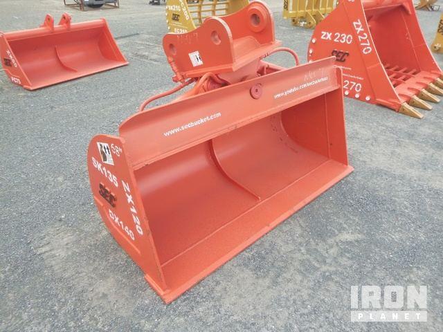 SEC 1700 mm Hydraulic Tilting Excavator Bucket UNUSED, Excavator Bucket