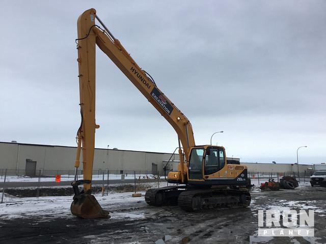 2009 Hyundai Robex 210LC-9 Track Excavator, Hydraulic Excavator