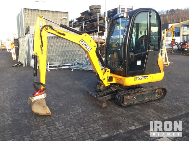 2015 JCB 8018CTS Mini Excavator, Mini Excavator (1 - 4.9 Tons)