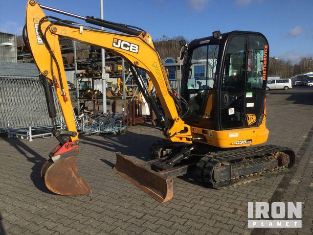 2015 JCB 8035ZTS Mini Excavator, Mini Excavator (1 - 4.9 Tons)