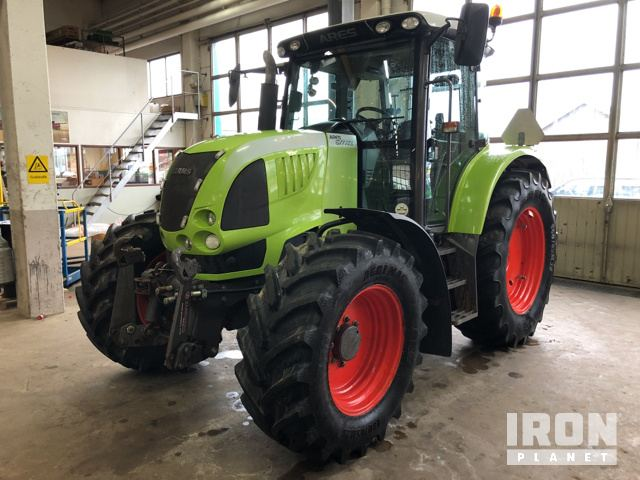 2009 Claas Ares 577 ATZ 4WD Tractor, MFWD Tractor