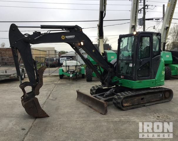 2014 John Deere 60G Mini Excavator, Mini Excavator (1 - 4.9 Tons)