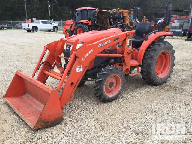 2017 Kubota L3901DT 4WD Tractor, MFWD Tractor