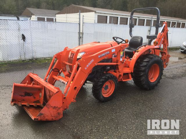 2018 Kubota L3901D 4WD Tractor, MFWD Tractor