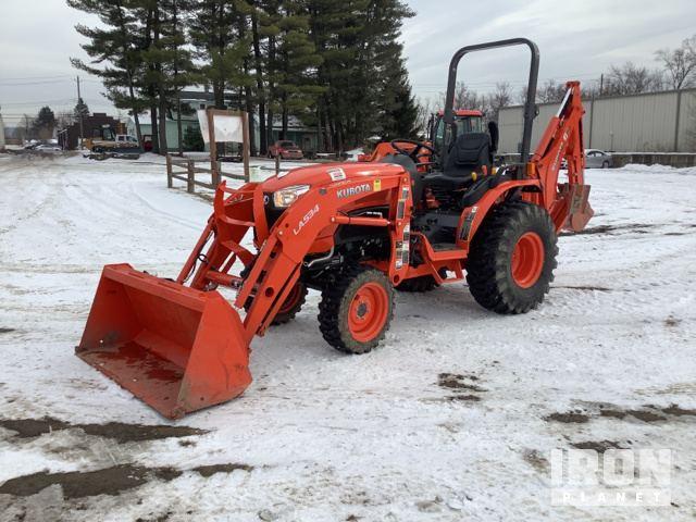 Kubota B2650HSD 4WD Tractor, MFWD Tractor