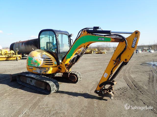 2014 JCB 8055 5T Tracked Excavator. Serial: 2426002 (UK), Mini Excavator (1 - 4.9 Tons)