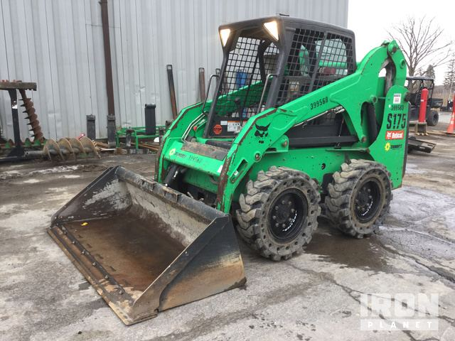 2012 Bobcat S175 Skid-Steer Loader, Skid Steer Loader