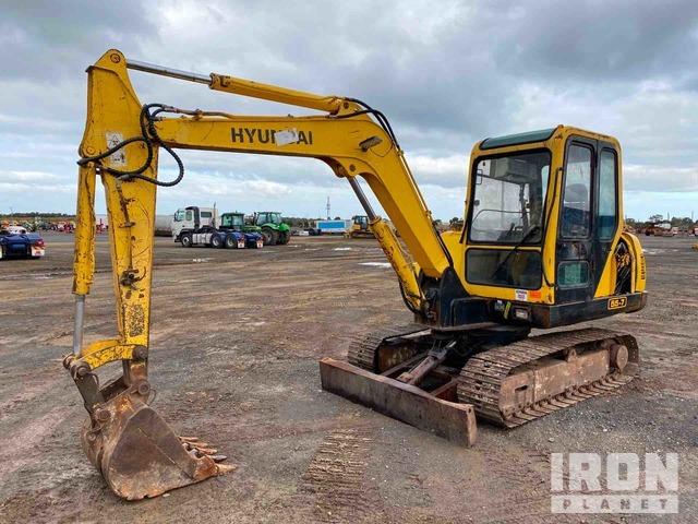 2008 Hyundai Robex 55-7 Midi Excavator, Hydraulic Excavator