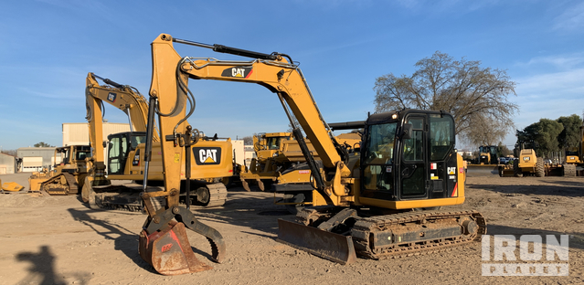 2016 Cat 308E2 CR SB Mini Excavator, Mini Excavator (1 - 4.9 Tons)