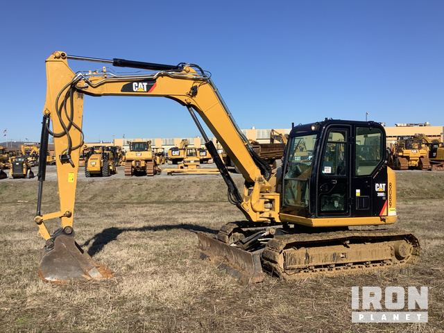 2017 Cat 308E2 CR SB Mini Excavator, Mini Excavator (1 - 4.9 Tons)