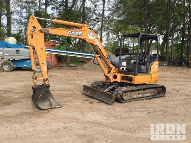 2015 Case CX55B Mini Excavator, Mini Excavator (1 - 4.9 Tons)