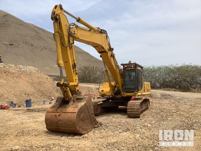 1999 Komatsu PC340LC-6KJ Track Excavator with Demolition Boom, Hydraulic Excavator