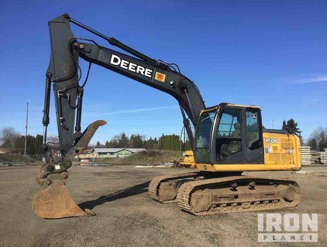 2008 John Deere 160D LC Track Excavator, Hydraulic Excavator