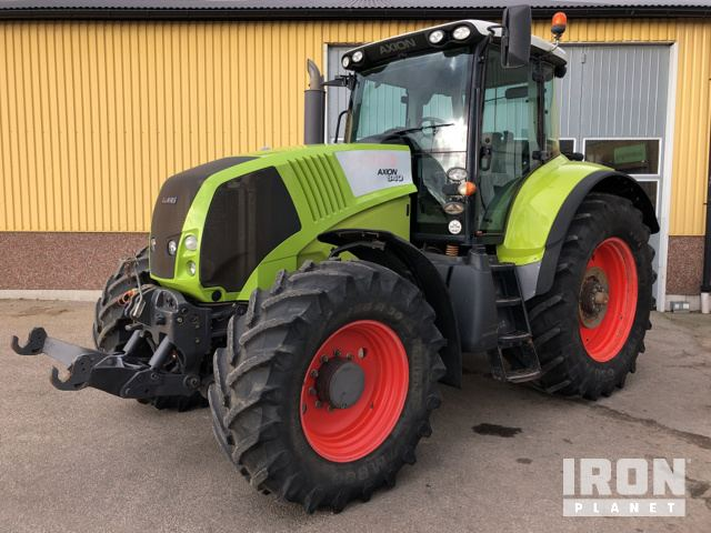 2009 Claas Axion 840 4WD Tractor, MFWD Tractor