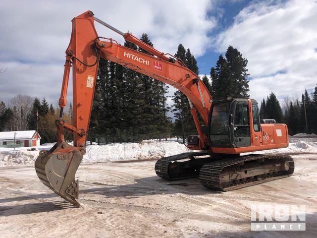 2006 Hitachi ZX200LC Track Excavator, Hydraulic Excavator