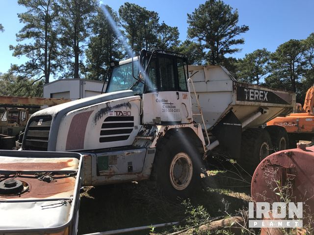 Terex TA30 Articulated Dump Truck, Parts/Stationary Construction-Other