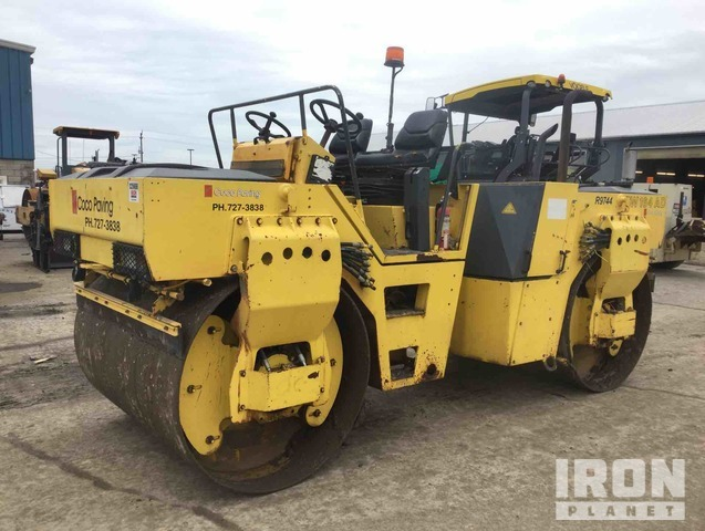 Bomag BW164AD Vibratory Double Drum Roller, Roller