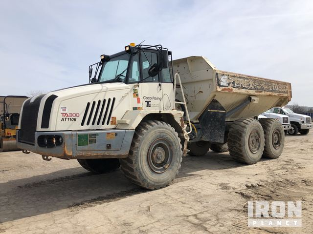 2011 Terex TA300 Articulated Dump Truck, Articulated Dump Truck