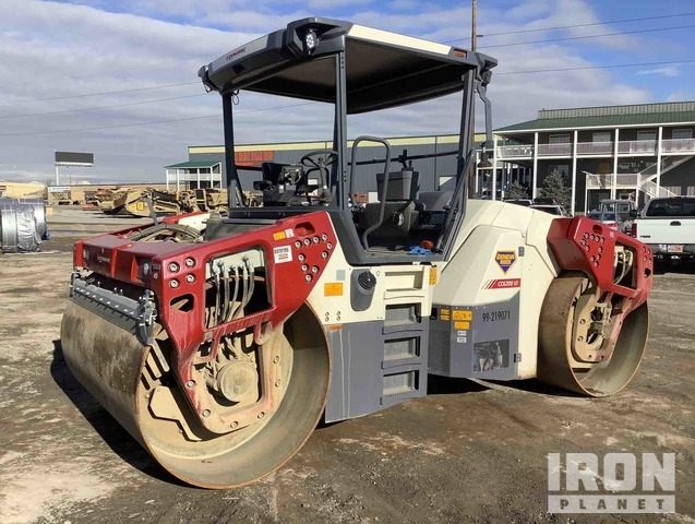 2018 Dynapac CC6200VI Vibratory Double Drum Roller, Roller