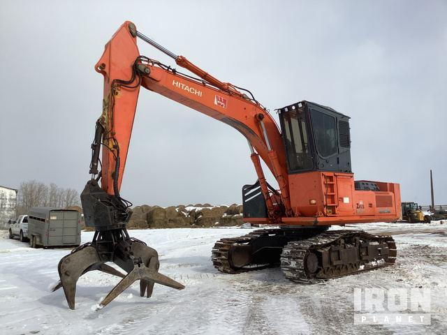 Hitachi ZX350LL Log Loader, Log Loader