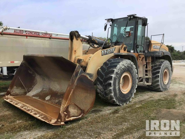 2014 Case 1121F Wheel Loader: <7cy, Parts/Stationary Construction-Other