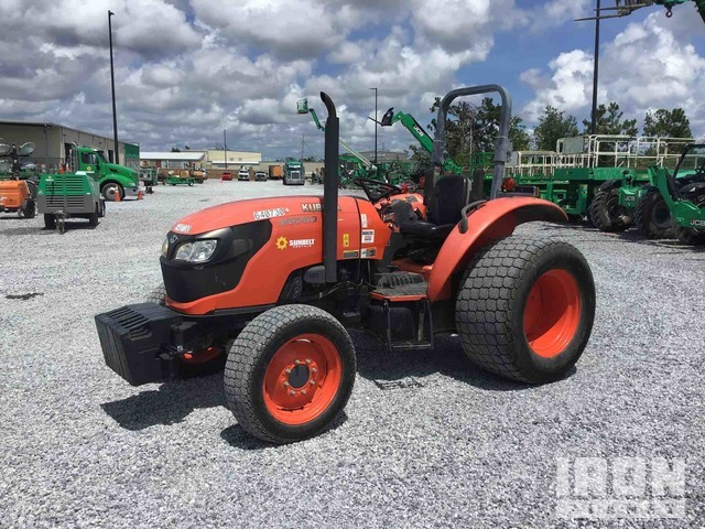 2014 (unverified) Kubota M6060D 4WD Tractor, MFWD Tractor