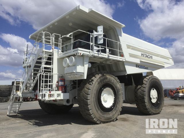 2008 Hitachi EH3500AC-II Off-Road End Dump Truck, Rock Truck
