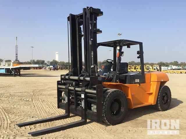 2019 Hangcha CPCD100 RW14 Pneumatic Tire Forklift - Unused, Forklift