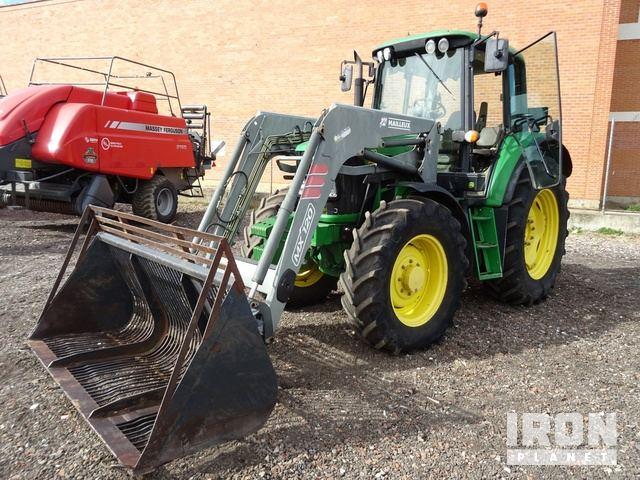 2009 John Deere 6430 Premium 4WD Tractor, MFWD Tractor