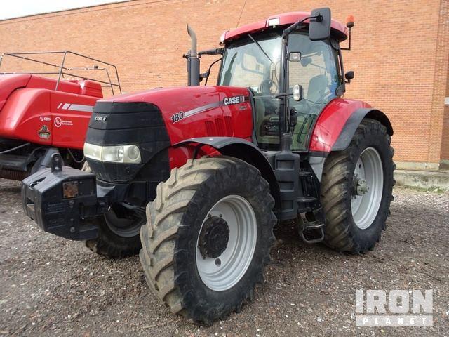 2011 Case IH PUMA 180 4WD Tractor, MFWD Tractor