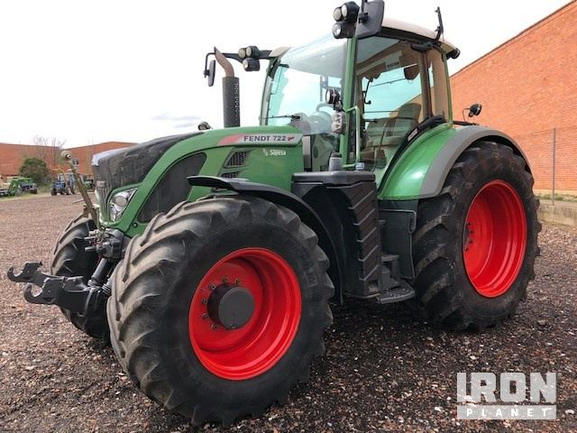 2012 Fendt 722 4WD Tractor, MFWD Tractor