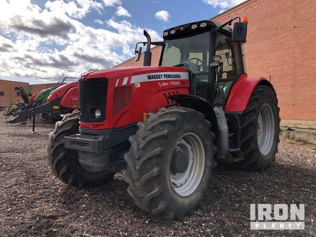 2010 Massey Ferguson 7495 4WD Tractor, MFWD Tractor