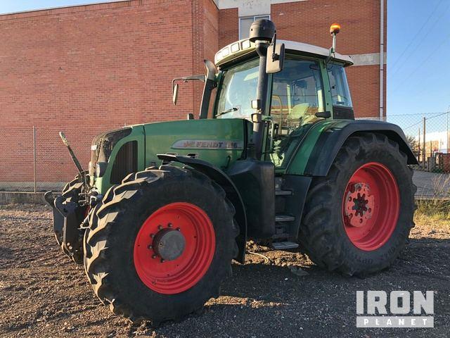 2010 Fendt 716 Vario 4WD Tractor, MFWD Tractor