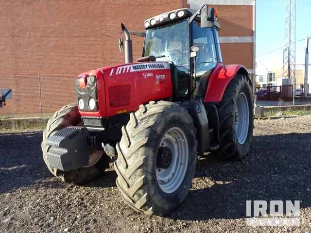 2004 Massey Ferguson 6485 4WD Tractor, MFWD Tractor