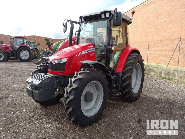 2014 Massey Ferguson 5610 4WD Tractor, MFWD Tractor