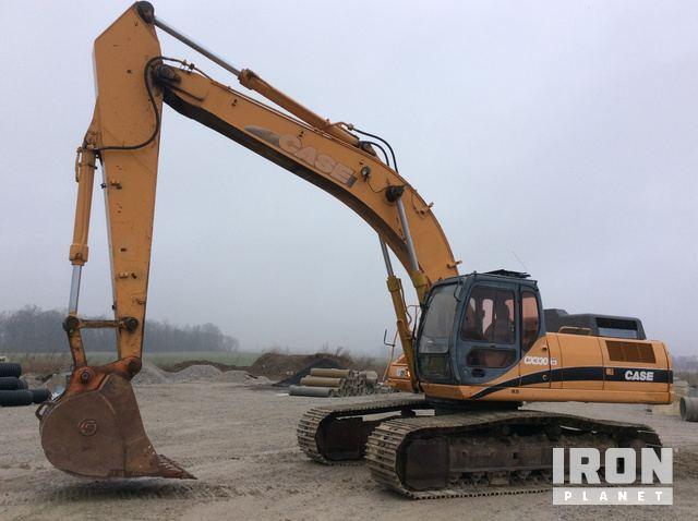 Case CX330 Track Excavator, Hydraulic Excavator