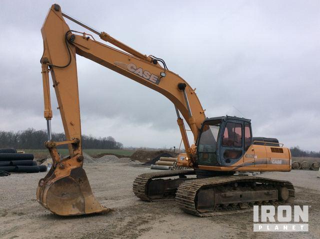 2006 Case CX290 Track Excavator, Hydraulic Excavator