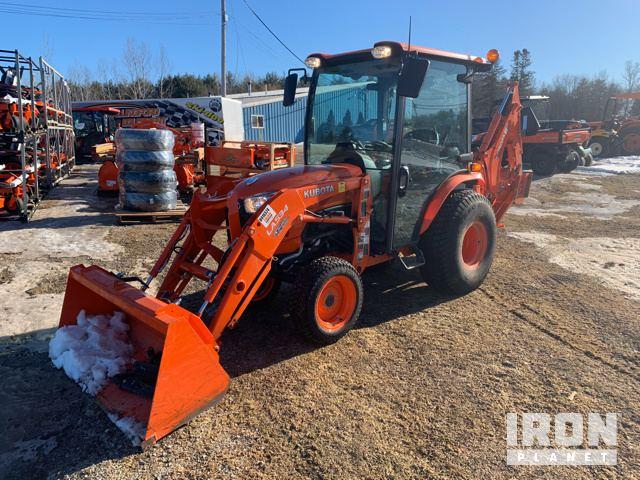 2018 (unverified) Kubota B2650HSD 4WD Tractor, MFWD Tractor
