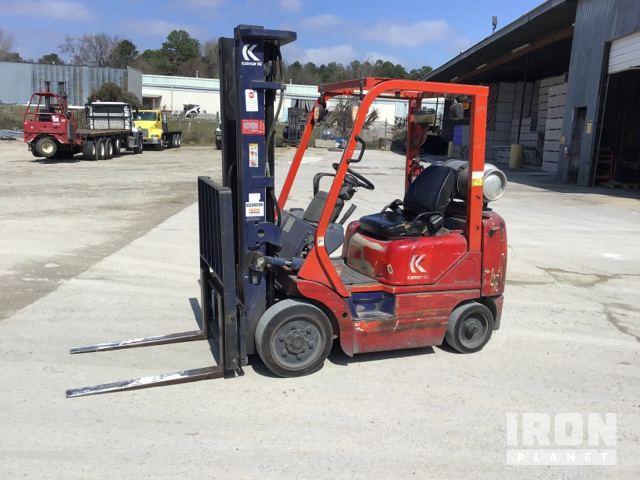 Kalmar AC G 40BX P6 Pneumatic Tire Forklift, Forklift