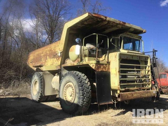 Euclid R50 Off-Road End Dump Truck, Rock Truck