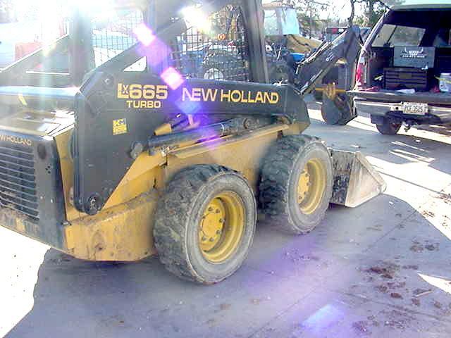 1998 New Holland LX665 Skid-Steer Loader in North Canton